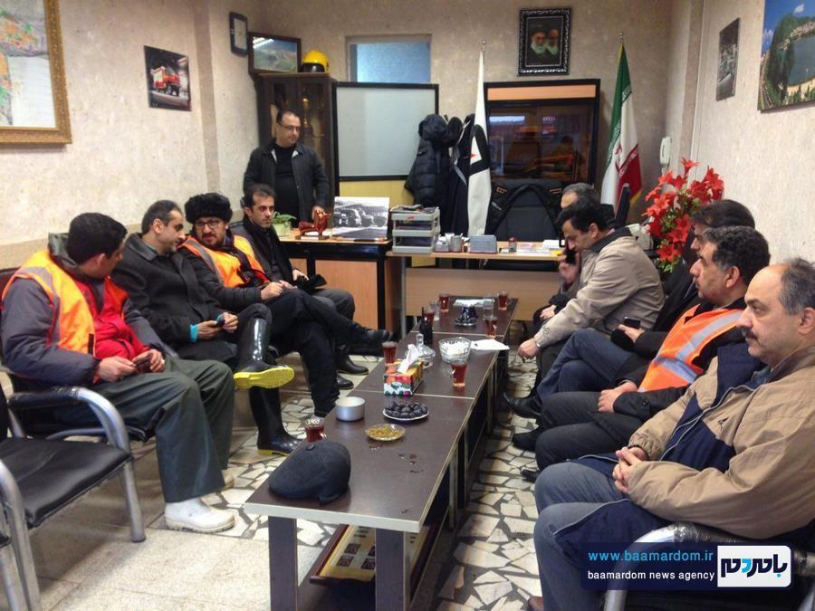 فعالیت ستاد بحران شهرداری لاهیجان آغاز شد