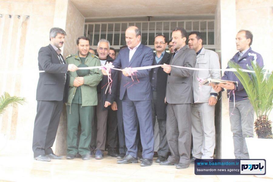 افتتاح همزمان پروژه های شهرداری آستانه اشرفیه + گزارش تصویری