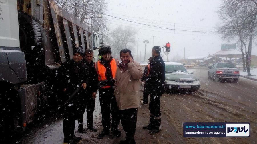 بازدید فرماندار لاهیجان از روند فعالیت ستادهای مدیریت بحران + تصاویر
