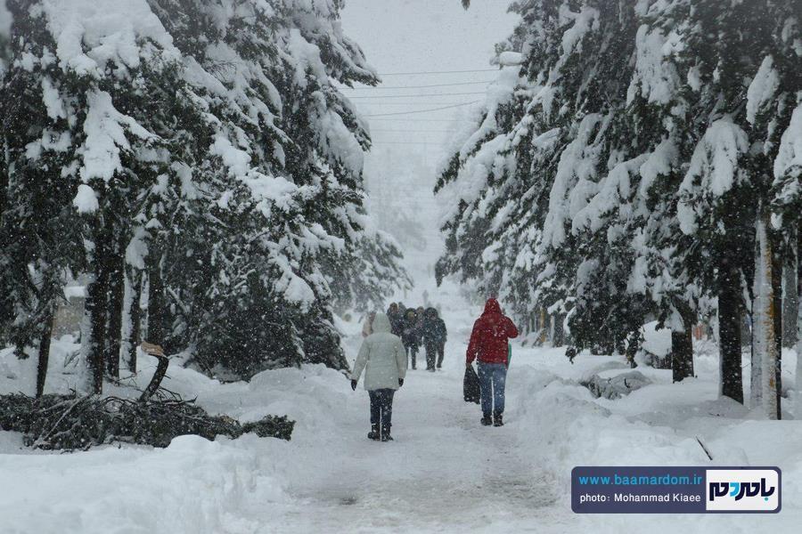 احتمال بارش شدید برف در استان گیلان | آماده باش استاندار به دستگاه های اجرایی و امدادی