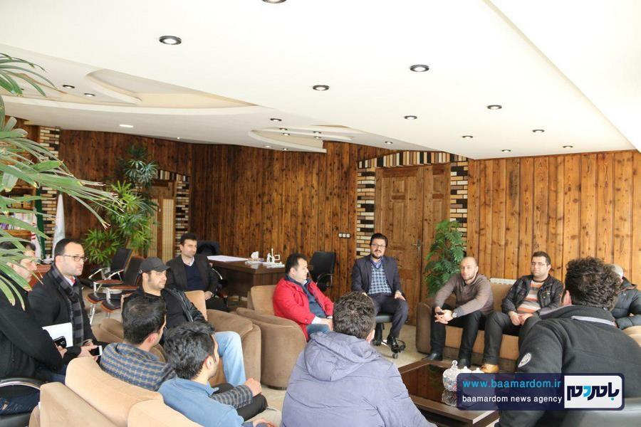 حضور افتخاری کمیته آفرود لاهیجان جهت همکاری با ستاد بحران شهرداری لاهیجان