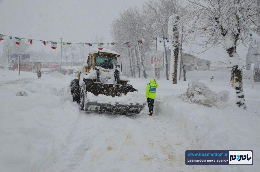 باران و برف در راه ایران