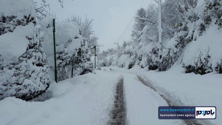 پیشبینی بارش ۷۰ الی ۱۵۰ سانتی در گیلان | آغاز بارش برف در جلگه از شنبه