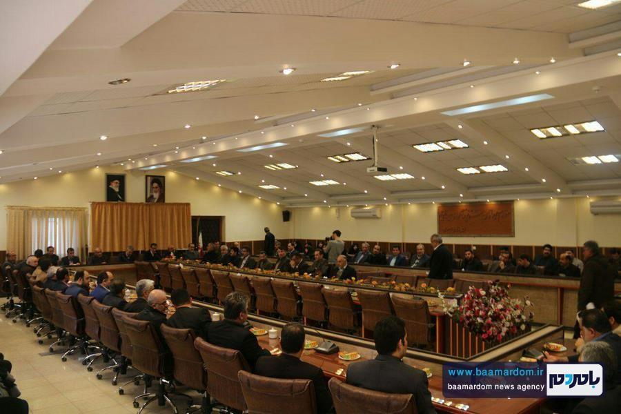 مراسم معارفه بخشدار جدید بخش مرکزی لاهیجان   گزارش تصویری