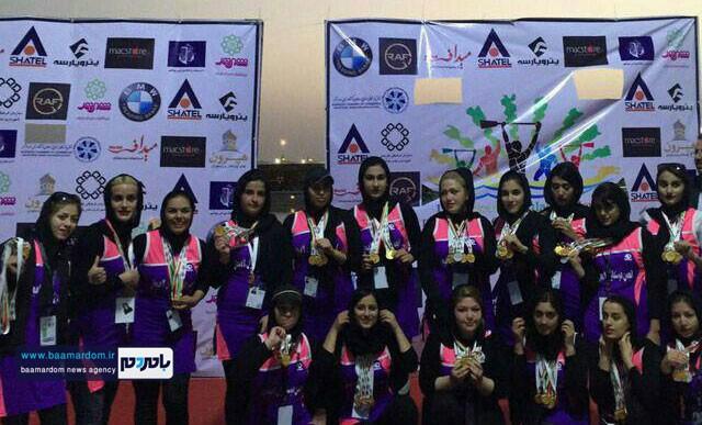 موفقیت دختران قایقران گیلانی در جنوب