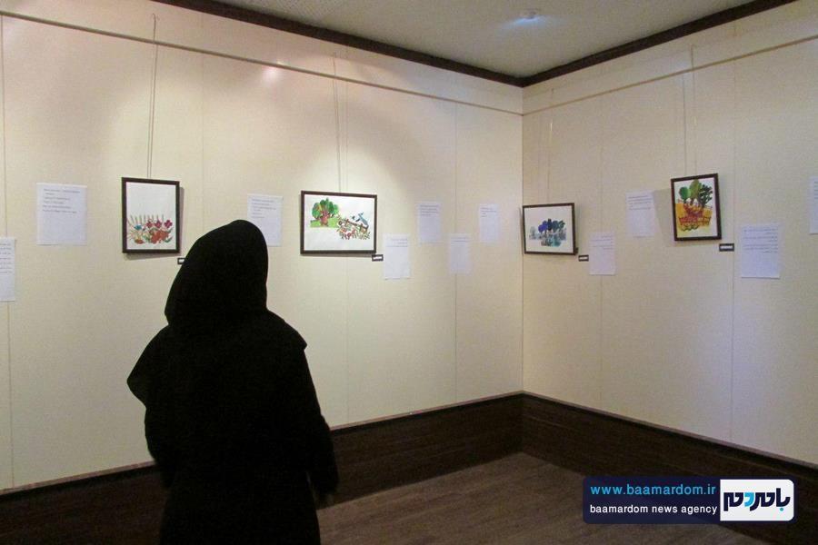 نمايشگاه «تصويرگري كتاب كودك»در لاهيجان برپا شد + تصاویر