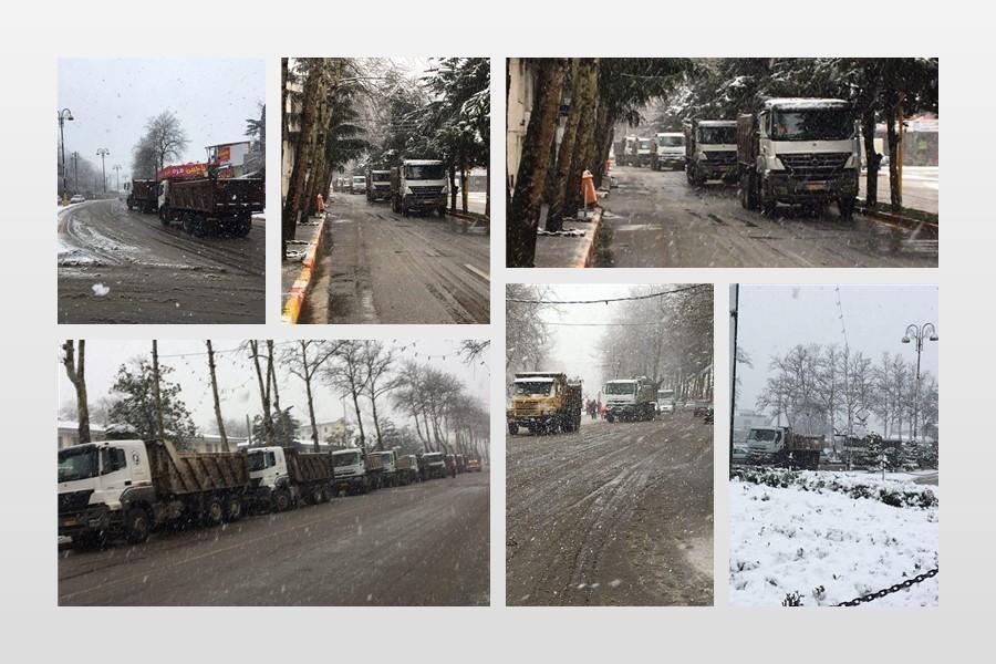 از بحران برف های اخیر در استان گیلان تا نگاه ویژه مدیر کل بنیاد مسکن گیلان به لاهیجان