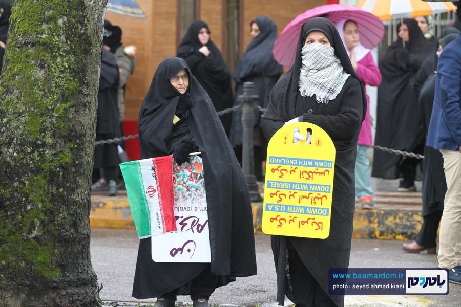 22 بهمن لاهیجان 1 1 - راهپیمایی 22 بهمن در لاهیجان برگزار شد   گزارش تصویری اول