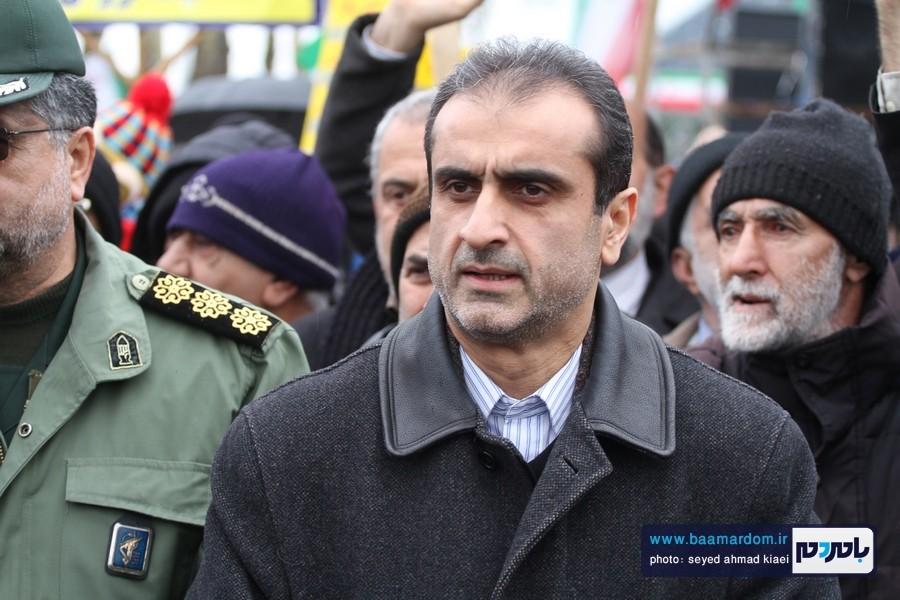 22 بهمن لاهیجان 10 - راهپیمایی 22 بهمن در لاهیجان برگزار شد   گزارش تصویری اول