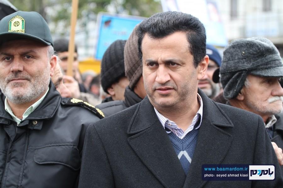 22 بهمن لاهیجان 12 - راهپیمایی 22 بهمن در لاهیجان برگزار شد   گزارش تصویری اول
