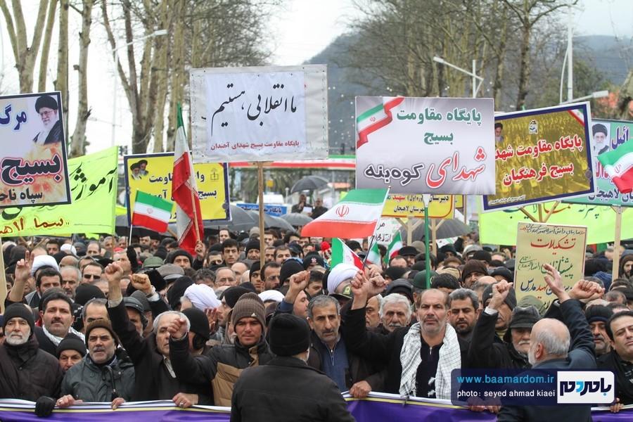 22 بهمن لاهیجان 13 - راهپیمایی 22 بهمن در لاهیجان برگزار شد   گزارش تصویری اول