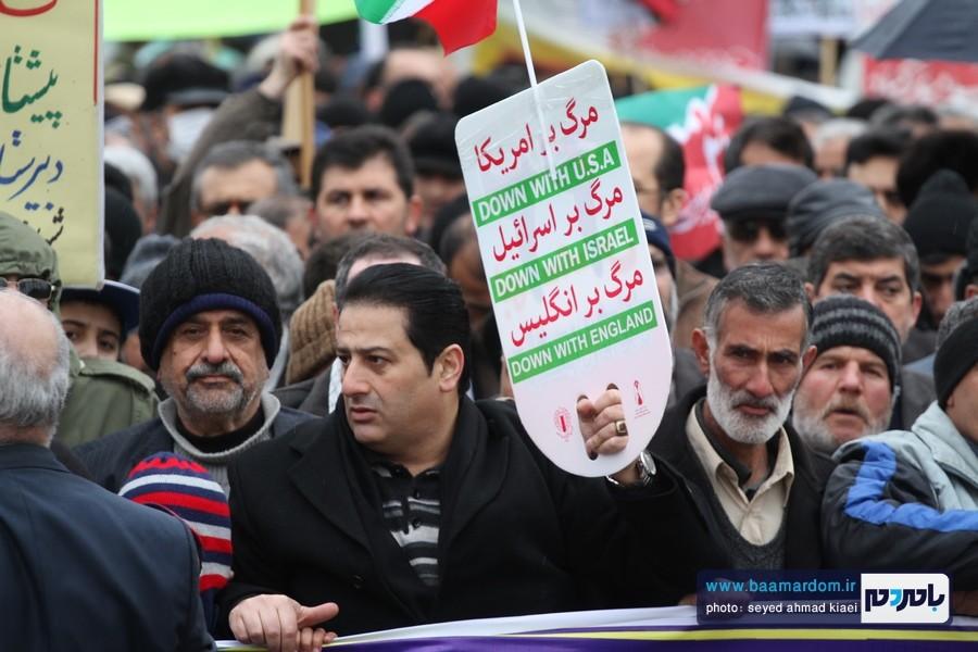 22 بهمن لاهیجان 14 - راهپیمایی 22 بهمن در لاهیجان برگزار شد   گزارش تصویری اول