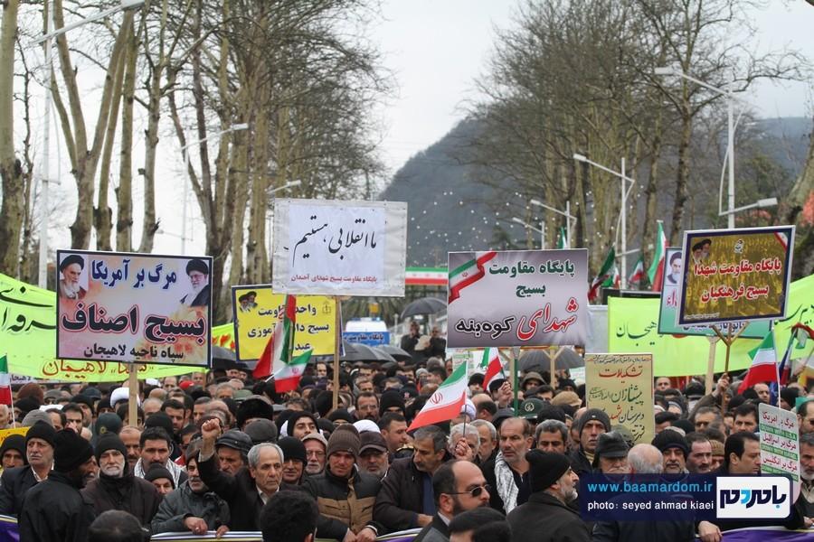 22 بهمن لاهیجان 15 - راهپیمایی 22 بهمن در لاهیجان برگزار شد   گزارش تصویری اول