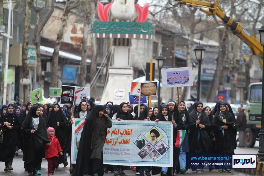 22 بهمن لاهیجان 17 - راهپیمایی 22 بهمن در لاهیجان برگزار شد   گزارش تصویری اول