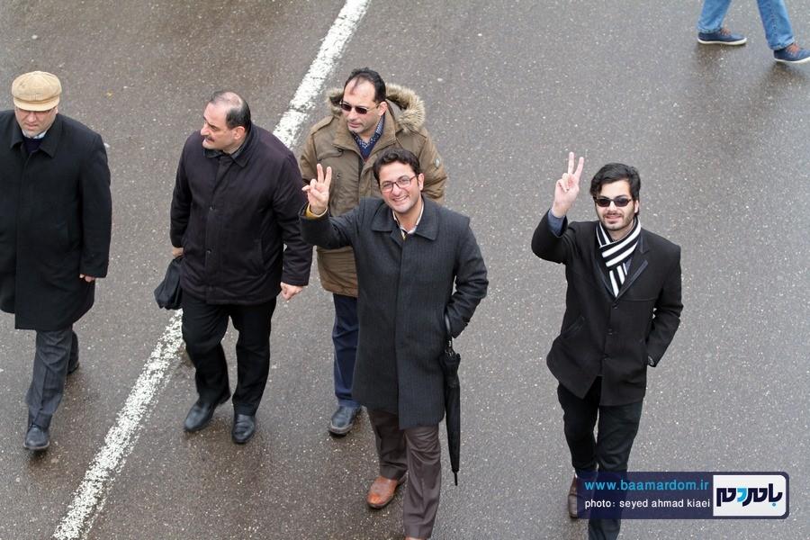 22 بهمن لاهیجان 19 - راهپیمایی 22 بهمن در لاهیجان برگزار شد   گزارش تصویری اول