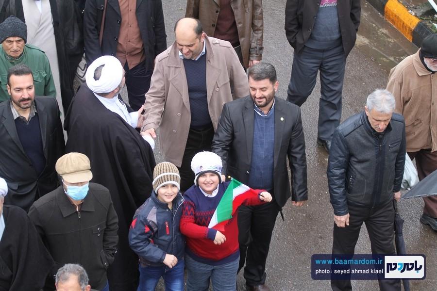 22 بهمن لاهیجان 22 - راهپیمایی 22 بهمن در لاهیجان برگزار شد   گزارش تصویری اول