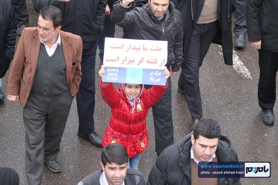 22 بهمن لاهیجان 25 - راهپیمایی 22 بهمن در لاهیجان برگزار شد   گزارش تصویری اول