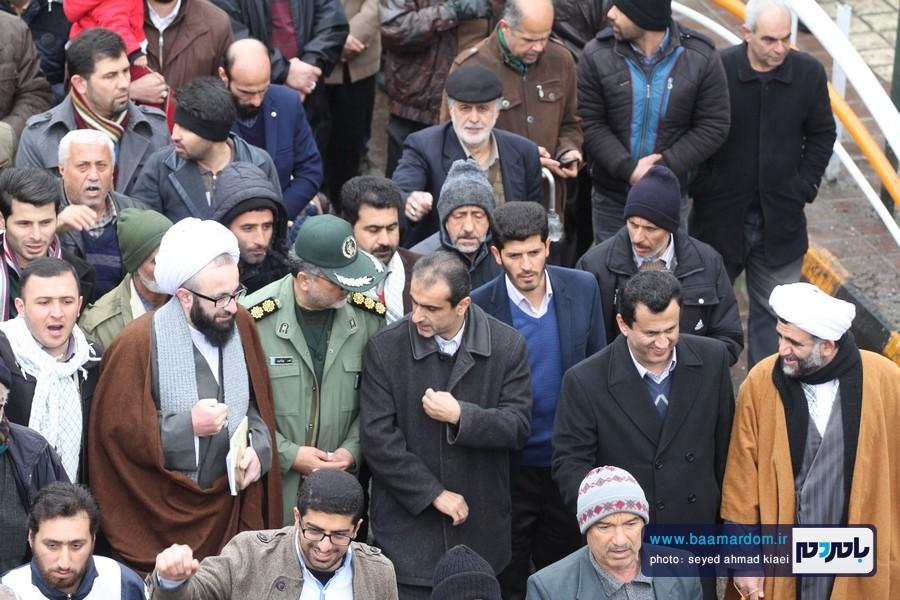 22 بهمن لاهیجان 26 - راهپیمایی 22 بهمن در لاهیجان برگزار شد   گزارش تصویری اول