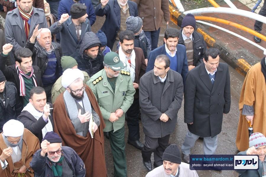 22 بهمن لاهیجان 27 - راهپیمایی 22 بهمن در لاهیجان برگزار شد   گزارش تصویری اول