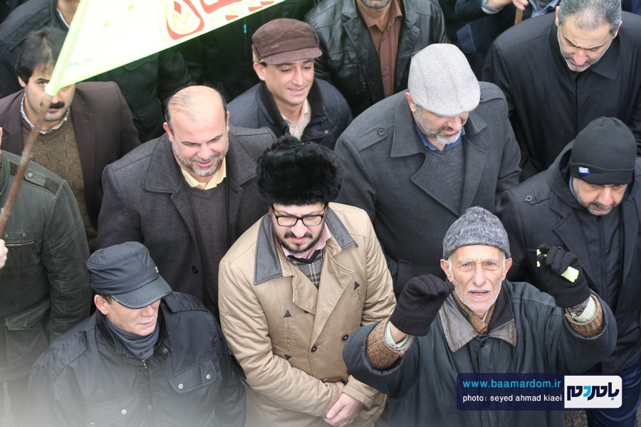 22 بهمن لاهیجان 29 - راهپیمایی 22 بهمن در لاهیجان برگزار شد   گزارش تصویری اول