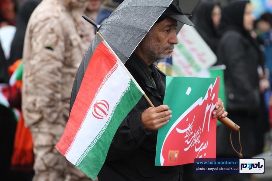 22 بهمن لاهیجان 3 1 - راهپیمایی 22 بهمن در لاهیجان برگزار شد   گزارش تصویری اول