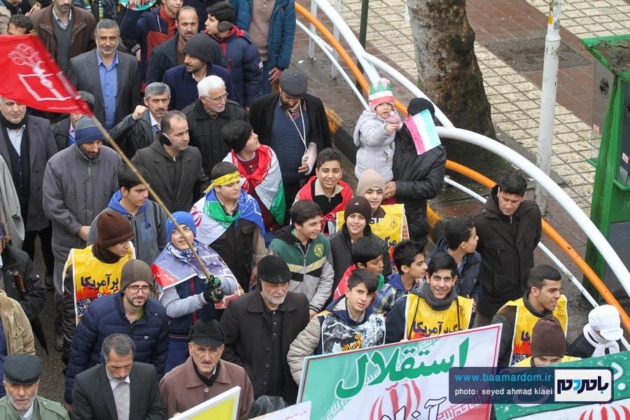 22 بهمن لاهیجان 30 - راهپیمایی 22 بهمن در لاهیجان برگزار شد   گزارش تصویری اول
