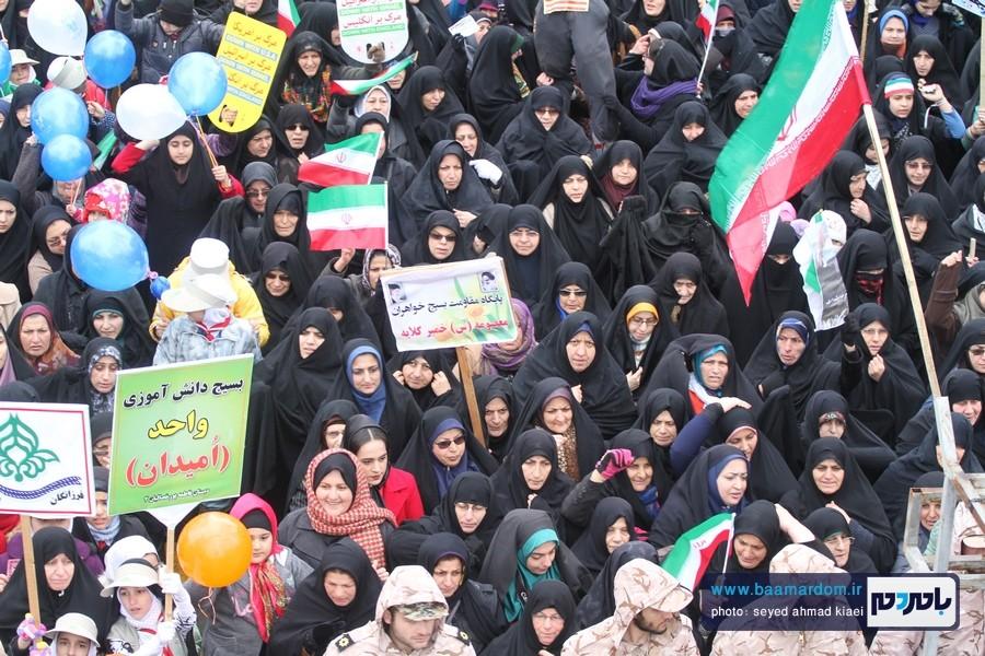 22 بهمن لاهیجان 32 - راهپیمایی 22 بهمن در لاهیجان برگزار شد   گزارش تصویری اول