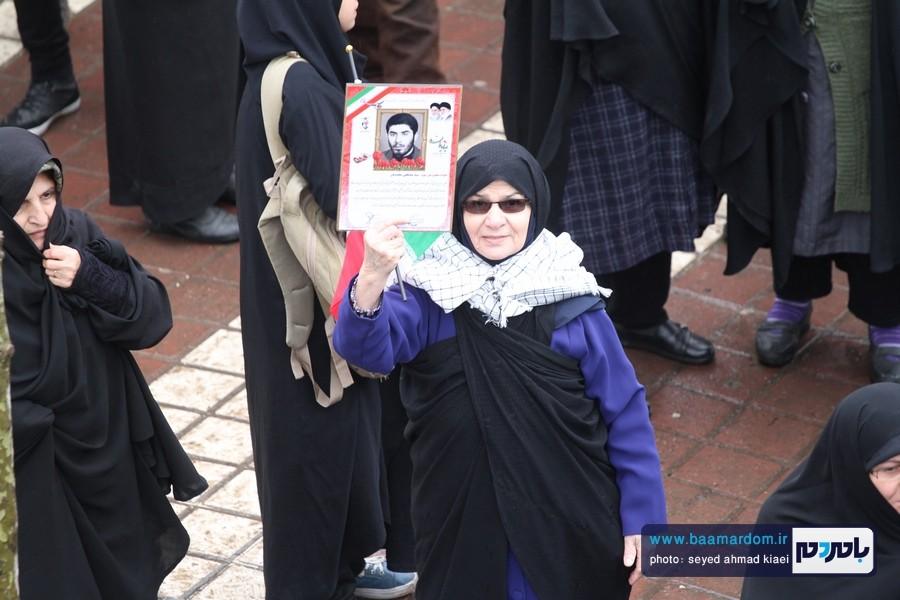 22 بهمن لاهیجان 34 - راهپیمایی 22 بهمن در لاهیجان برگزار شد   گزارش تصویری اول