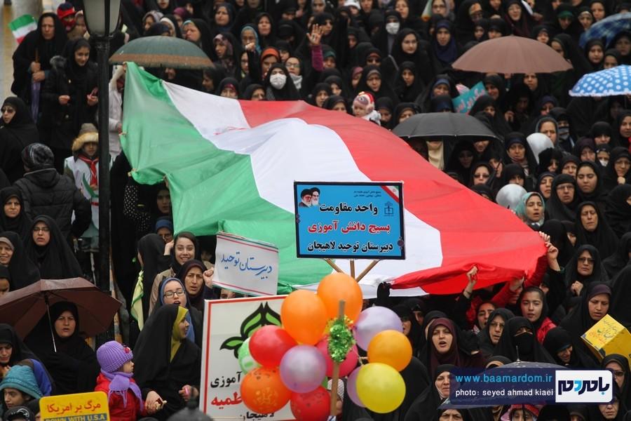 22 بهمن لاهیجان 35 - راهپیمایی 22 بهمن در لاهیجان برگزار شد   گزارش تصویری اول