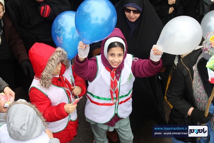22 بهمن لاهیجان 36 - راهپیمایی 22 بهمن در لاهیجان برگزار شد   گزارش تصویری اول