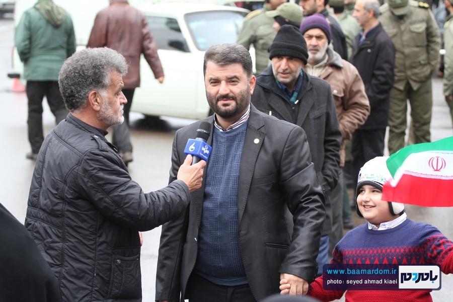 22 بهمن لاهیجان 37 - راهپیمایی 22 بهمن در لاهیجان برگزار شد   گزارش تصویری اول