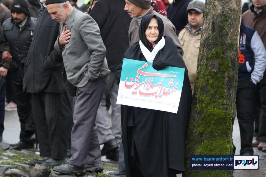 22 بهمن لاهیجان 4 1 - راهپیمایی 22 بهمن در لاهیجان برگزار شد   گزارش تصویری اول