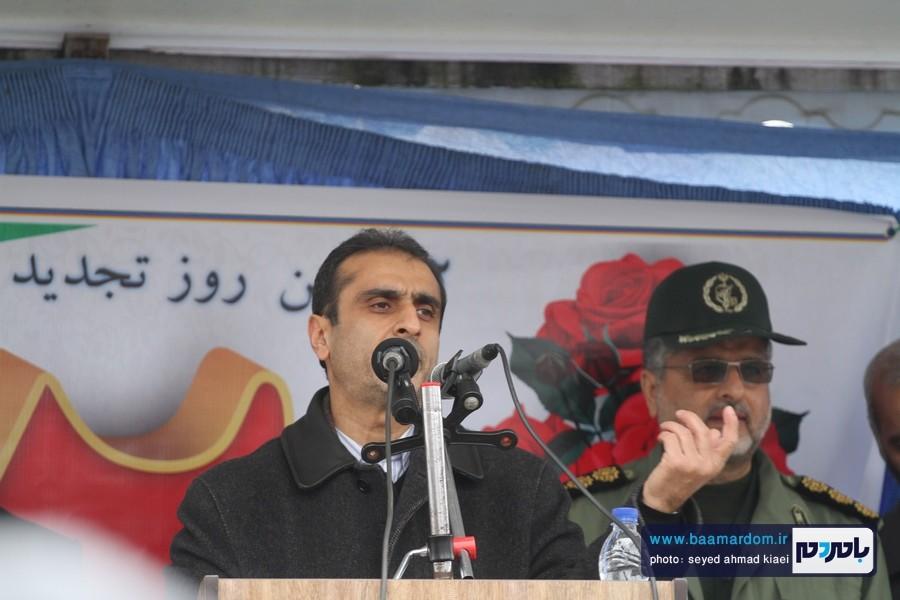 22 بهمن لاهیجان 45 - راهپیمایی 22 بهمن در لاهیجان برگزار شد   گزارش تصویری اول