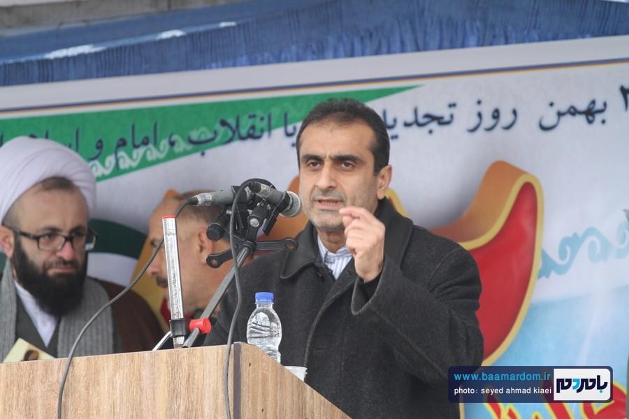 22 بهمن لاهیجان 46 - راهپیمایی 22 بهمن در لاهیجان برگزار شد   گزارش تصویری اول