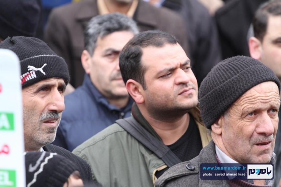 22 بهمن لاهیجان 48 - راهپیمایی 22 بهمن در لاهیجان برگزار شد   گزارش تصویری اول