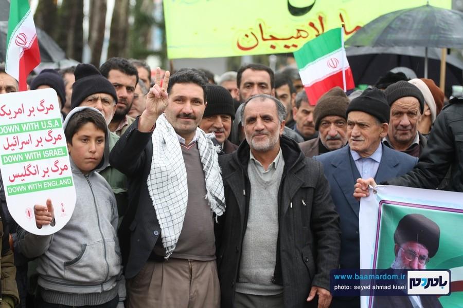 22 بهمن لاهیجان 5 1 - راهپیمایی 22 بهمن در لاهیجان برگزار شد   گزارش تصویری اول
