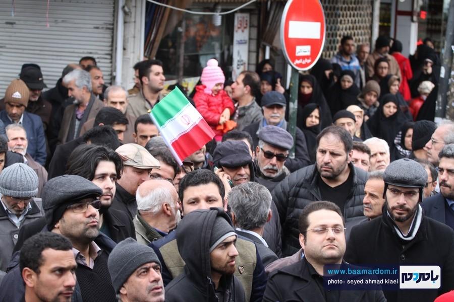 22 بهمن لاهیجان 50 - راهپیمایی 22 بهمن در لاهیجان برگزار شد   گزارش تصویری اول