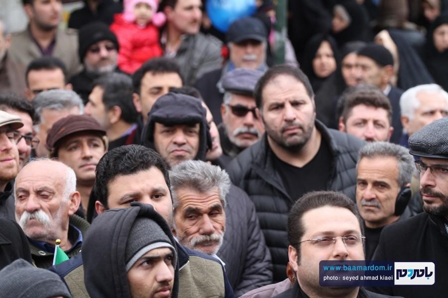 22 بهمن لاهیجان 51 - راهپیمایی 22 بهمن در لاهیجان برگزار شد   گزارش تصویری اول