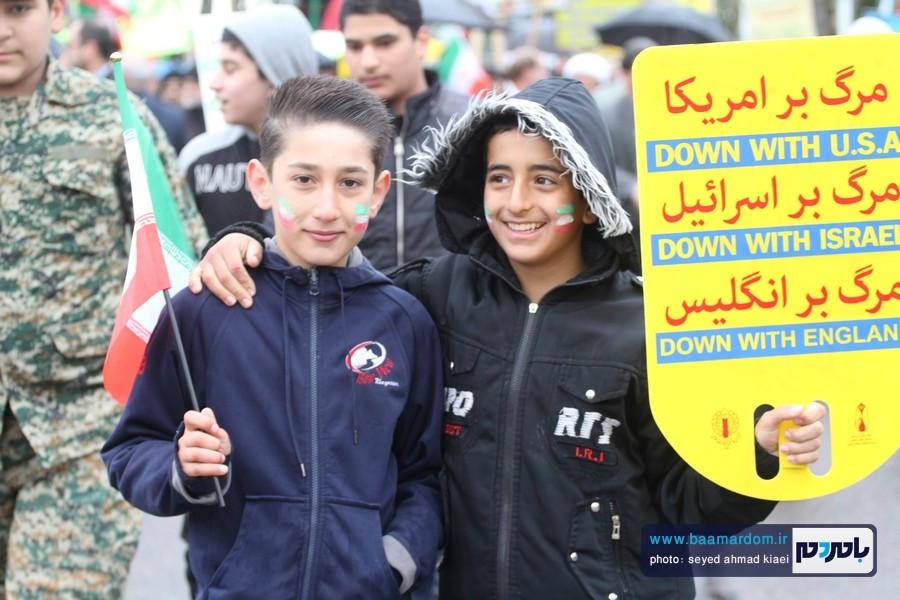 22 بهمن لاهیجان 6 1 - راهپیمایی 22 بهمن در لاهیجان برگزار شد   گزارش تصویری اول
