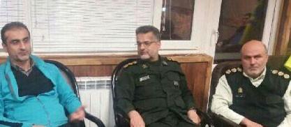 تجهیزات سپاه لاهیجان در اختیار نیروهای امدادرسان قرار گرفت