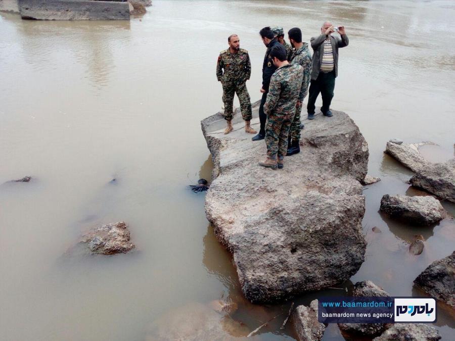 تصاویر جسد کشف شده مرد جوان در زیر پل آستانه اشرفیه