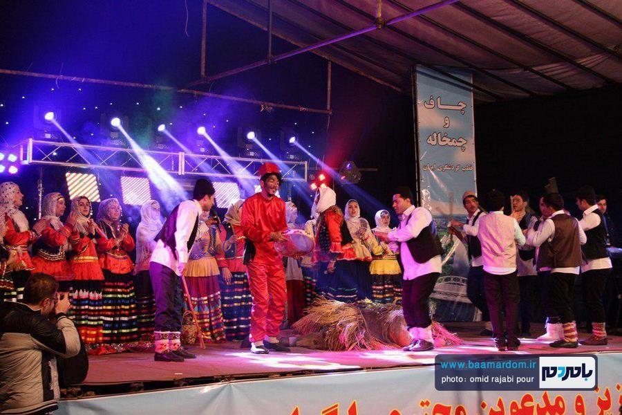 جشنواره نوروزی شهرهای چاف و چمخاله لنگرود در حال برگزاری است + تصاویر