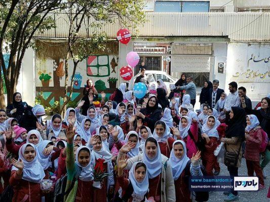 جشن نیکوکاری در مدرسه دخترانه سما واحد لنگرود 4 533x400 - شهرداری رشت به استقبال بازگشایی مدارس می رود