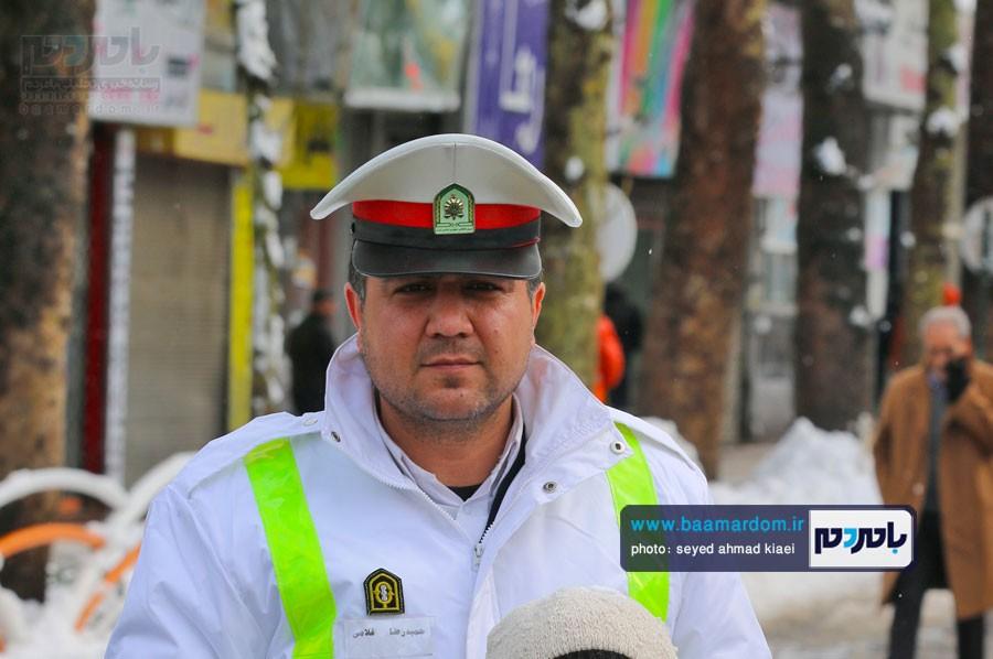 اقدام پلیس منجر به روان سازی ترافیک نوروزی در شهر لاهیجان شد