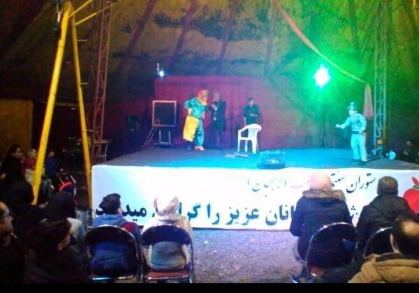 تمدید اجرای سیرک در لاهیجان