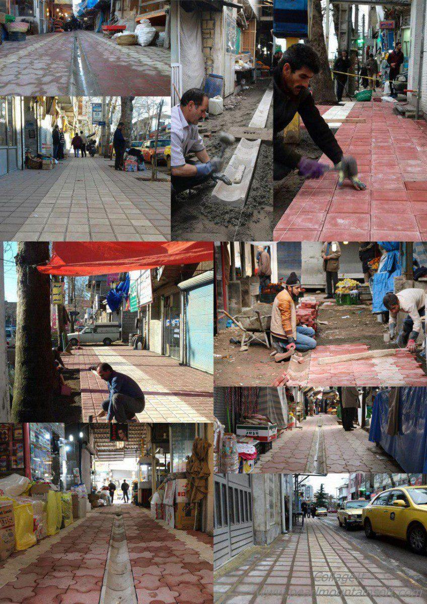 شهرداری لاهیجان به استقبال بهار رفت + تصاویر