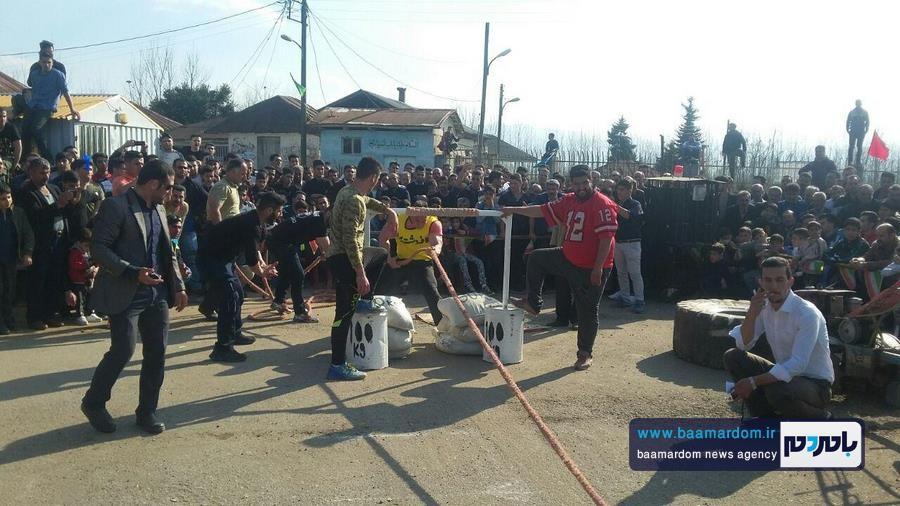 مسابقات قویترین مردان شهرستان لنگرود 16 - مسابقات قویترین مردان شهرستان لنگرود در روستای دریاکنار برگزار شد + گزارش تصویری