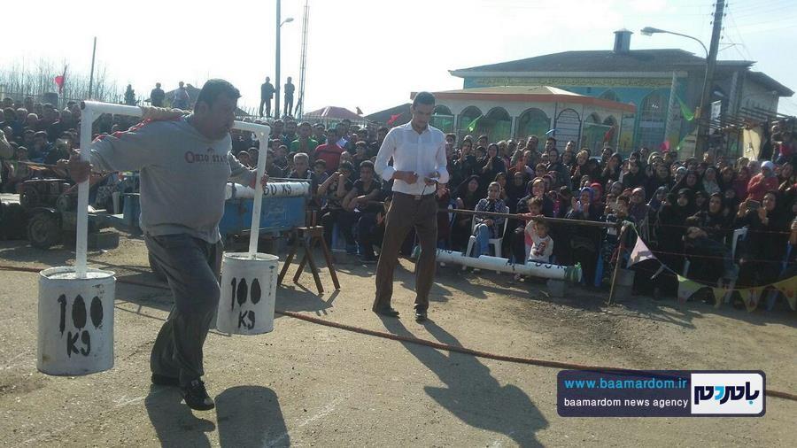 مسابقات قویترین مردان شهرستان لنگرود 18 - مسابقات قویترین مردان شهرستان لنگرود در روستای دریاکنار برگزار شد + گزارش تصویری