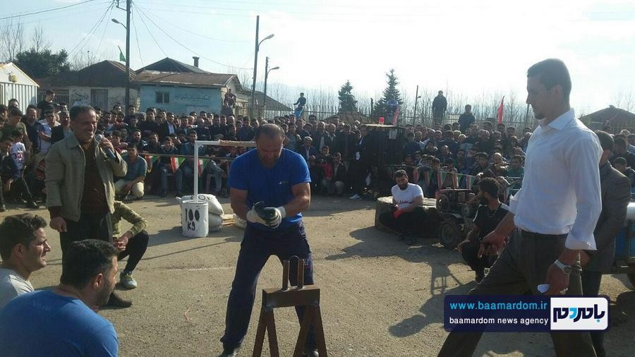 مسابقات قویترین مردان شهرستان لنگرود 2 - مسابقات قویترین مردان شهرستان لنگرود در روستای دریاکنار برگزار شد + گزارش تصویری