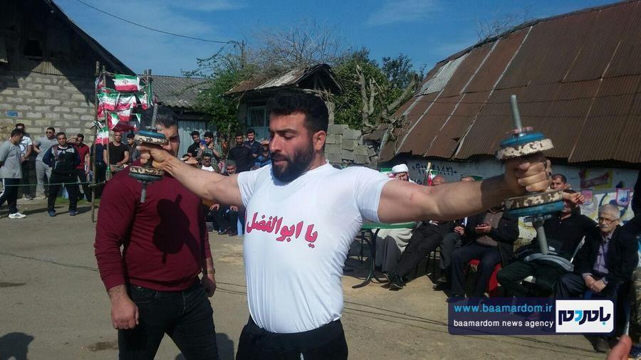مسابقات قویترین مردان شهرستان لنگرود 21 - مسابقات قویترین مردان شهرستان لنگرود در روستای دریاکنار برگزار شد + گزارش تصویری